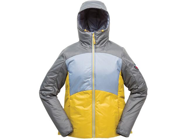 Big Agnes Larkspur Jacket Women, grijs/geel
